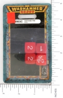 Dice : MINT14 GAMES WORKSHOP SUSTAINED FIRE DICE 01