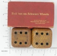 Dice : MINT1 SCHWARZ WHEEL 01