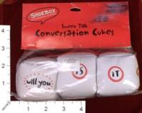 Dice : MINT32 HALLMARK CONVERSATION CUBES 01
