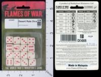 Dice : MINT17 FLAMES OF WAR DESERT RATS 01