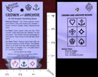 Dice : MINT36 KOPLOW CROWN AND ANCHOR