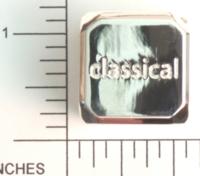 Dice : METAL SILVER D6 04
