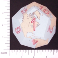 Dice : PAPER D12 3 DODECEARTH 03