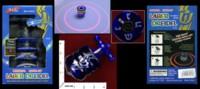 Dice : MINT33 AVIV JUDAICA LASER DREIDEL PLAYS AXEL F BY CRAZY FROG 01