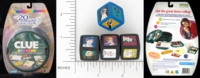 Dice : NON NUMBERED OPAQUE ROUNDED SOLID PARKER BROTHERS CLUE EXPRESS 01