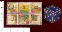 Dice : MINT30 PRINT AND PLAY PRODUCTIONS DISCOVERY PLAYER 1 DICE 01