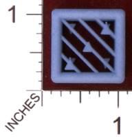 Dice : MINT29 SHAPEWAYS MCTRIVIA D6 GRID DIE 02 03