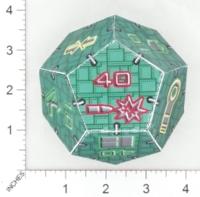 Dice : PAPER D12 OVERSOUL GAMES MECHA SOVIET IMPERIUM HEAVY MECHA COMBAT DICE 01