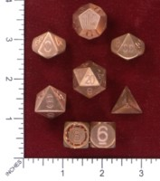 Dice : MINT46 SLY KLY PRECISION METAL POLYHEDRAL DICE