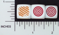 Dice : NON NUMBERED OPAQUE ROUNDED SOLID FAMILY LEARNING COLORS 01