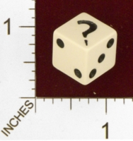 Dice : MINT23 PARKER BROTHERS CLUE 01