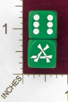 Dice : MINT27 DICE AND GAMES CUSTOM WARHAMMER SKAVEN 01