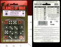 Dice : MINT31 FLAMES OF WAR TD032 TANK DESTROYER US ARMY 71ST CAVALRY 3RD SQUADRON HELL CATS 01