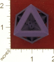 Dice : MINT26 SHAPEWAYS DGSZHGH D8 WITH TRIANGLE FACES 01