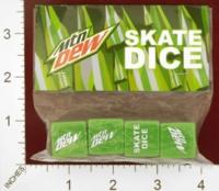 Dice : MINT25 MOUNTAIN DEW SKATE DICE 01