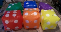 Dice : MINT20 ORIENTAL TRADING 12 INCH INFLATABLE 01