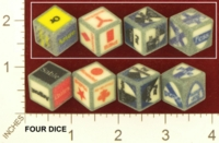 Dice : MINT26 SHAPEWAYS CLSN COMPLETE SET OF BLAZONRY 01