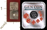 Dice : MINT27 CRYSTAL CASTE GEN CON 2011 COMMEMORATIVE 01