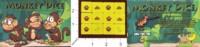 Dice : MINT34 CHAFFEE SHACK GAMES MONKEY DICE 01