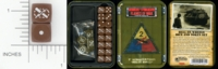 Dice : MINT15 GALE FORCE NINE TD009 2ND ARMORED DIVISION HELL ON WHEELS 01