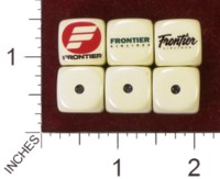 Dice : MINT35 HOMEMADE FRONTIER AIRLINES