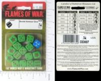 Dice : MINT15 FLAMES OF WAR SOVIET ARMOR 01