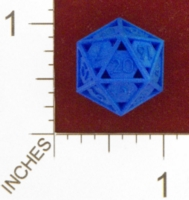Dice : MINT24 SHAPEWAYS CLSN OPEN 20 SIDED DIE 01