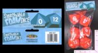 Dice : FOAM3 MINION GAMES SQUISHABLE FOAM POLYHEDRAL SET 02