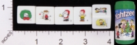 Dice : NUMBERED OPAQUE ROUNDED SOLID USAOPOLY PEANUTS A CHARLIE BROWN CHRISTMAS YAHTZEE 01
