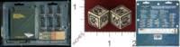 Dice : MINT31 GAMES WORKSHOP MUNITORUM VEHICLE HULL POINTS 01