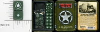 Dice : MINT15 GALE FORCE NINE TD012 STARS AND STRIPES