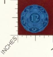 Dice : MINT24 SHAPEWAYS DIZINGOF RHOMBICOSIDODECAHEDRON D12 01