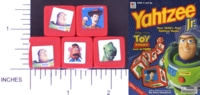 Dice : NON NUMBERED MB TOY STORY YAHTZEE