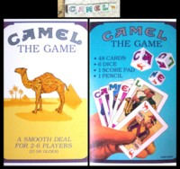 Dice : NON NUMBERED CAMEL CIGARETTE 01