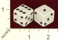 Dice : MINT21 CRISLOID WISCONSIN 01