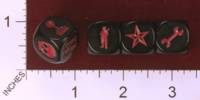Dice : MINT31 VALLEY GAMES D DAY DICE MACHINE GUN FIRE MGF DICE 01
