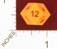 Dice : MINT25 SHAPEWAYS FRIZ D12 RHOMBIC DODECAHEDRON 01